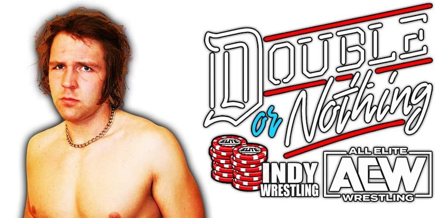 Jon Moxley Dean Ambrose AEW Double Or Nothing