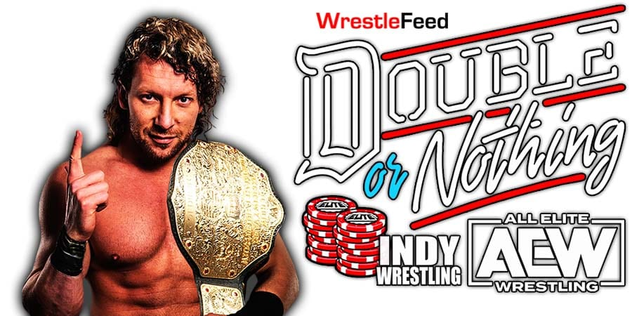 Kenny Omega AEW Double Or Nothing 2021 WrestleFeed App