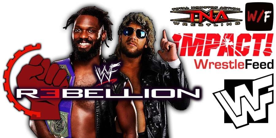 Kenny Omega beats Rich Swann at Impact Wrestling Rebellion 2021 WrestleFeed App