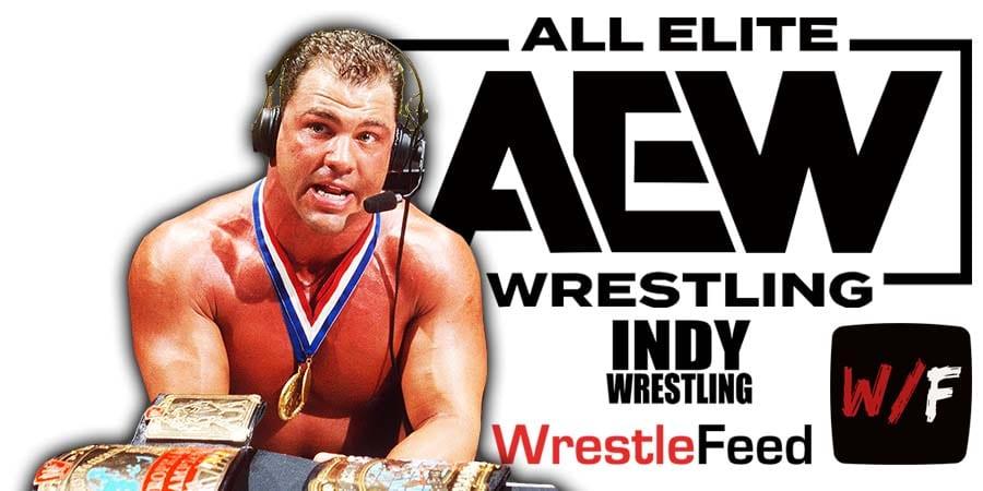 Kurt Angle AEW All Elite Wrestling Article Pic 4 WrestleFeed App