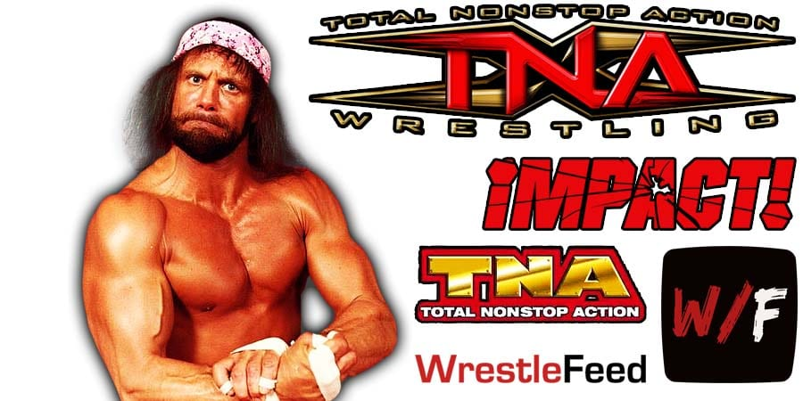 Macho Man Randy Savage TNA Impact Wrestling Article Pic 1 WrestleFeed App