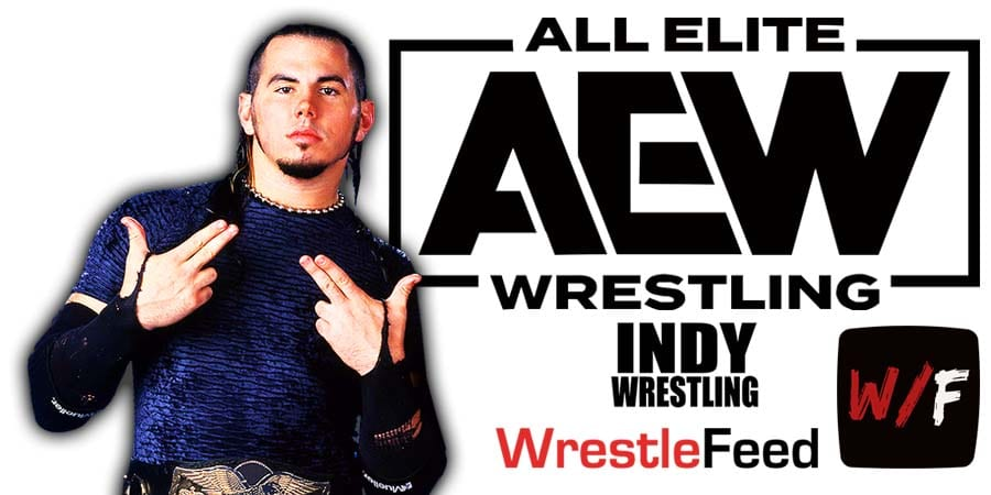 Matt Hardy AEW Article Pic 4 WrestleFeed App