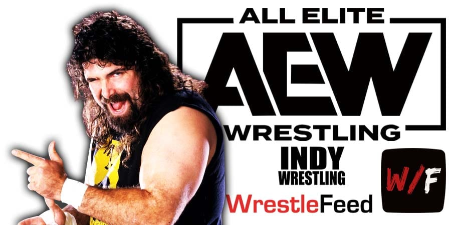 Mick Foley AEW All Elite Wrestling Article Pic 3 WrestleFeed App