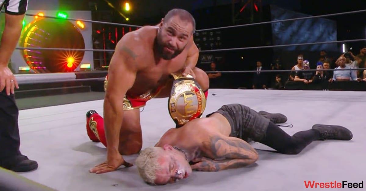 Miro Rusev Defeats Darby Allin To Win The TNT Championship On AEW Dynamite WrestleFeed App