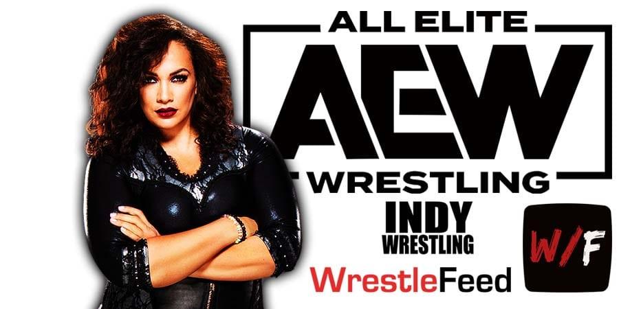 Nia Jax AEW Article Pic 1 WrestleFeed App