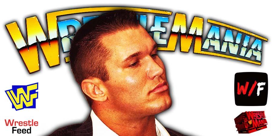 Randy Orton WWE WrestleMania 38 WrestleFeed App