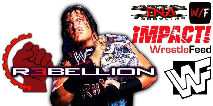 Rhino Impact Wrestling Rebellion 2021 WrestleFeed App