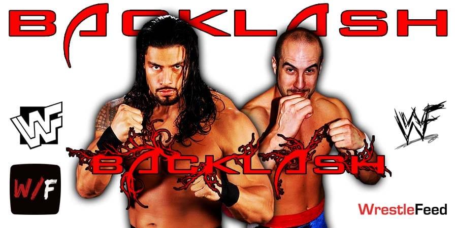 Roman Reigns Cesaro WrestleMania Backlash WrestleFeed App