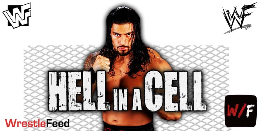 Roman Reigns Hell In A Cell 2021 WrestleFeed App
