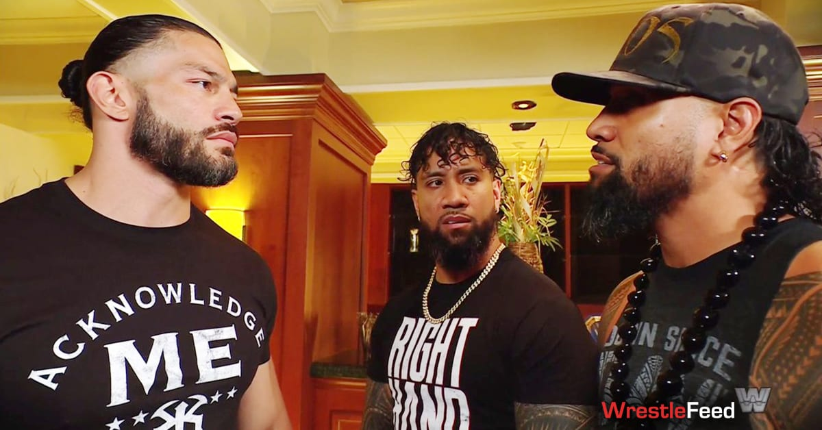 Roman Reigns Jey Uso Jimmy Uso The Usos WWE SmackDown Throwback Edition WrestleFeed App