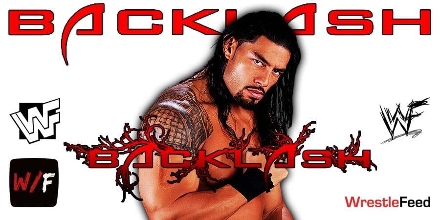 Roman Reigns Wins At WrestleMania Backlash WrestleFeed App