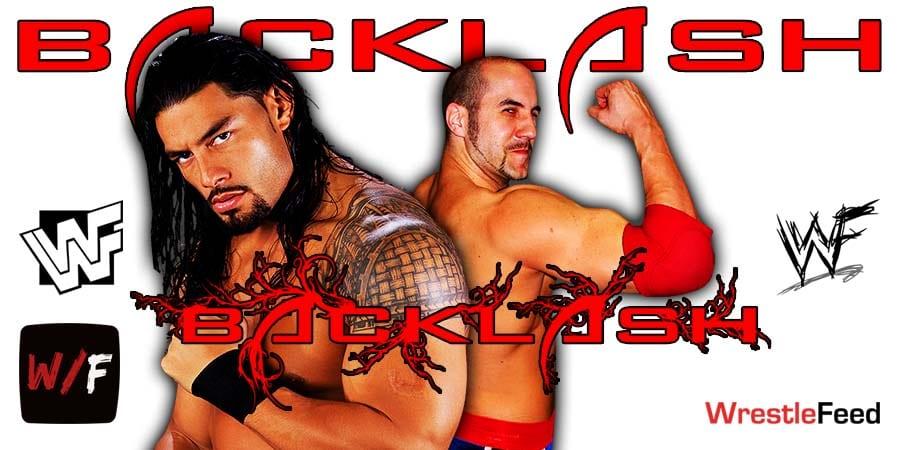 Roman Reigns vs Cesaro set for WrestleMania Backlash WrestleFeed App