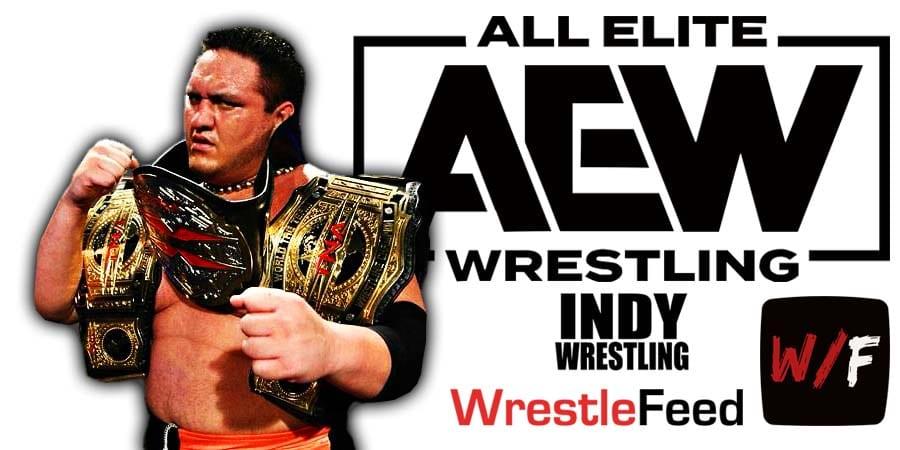 Samoa Joe AEW Article Pic 1 WrestleFeed App