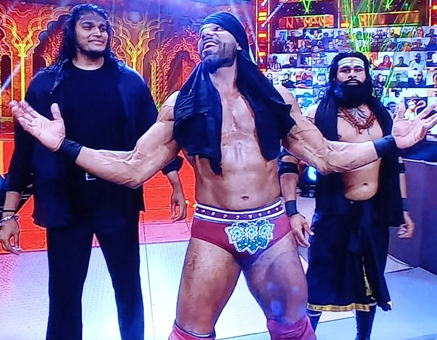 Jinder Mahal Returns On WWE Main Event; Forms New Faction With Indian Stars 1