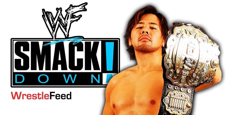Shinsuke Nakamura SmackDown Article Pic 1 WrestleFeed App