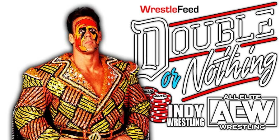 Sting AEW Double Or Nothing 2021 WrestleFeed App