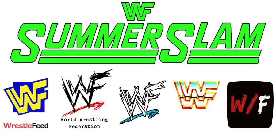 SummerSlam PPV Logo WrestleFeed App