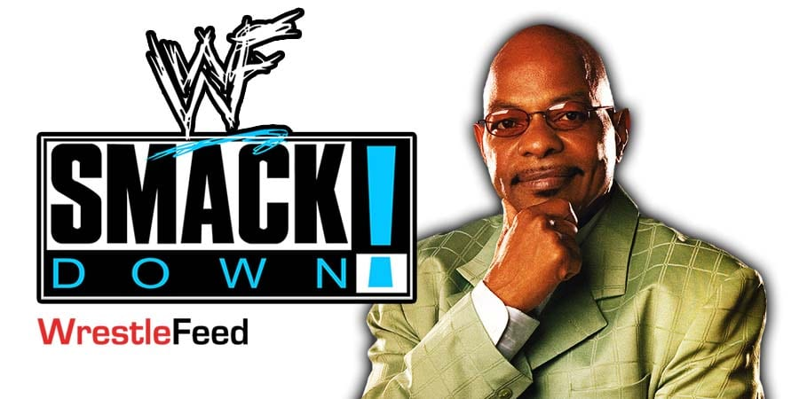 Teddy Long - Theodore R Long SmackDown Article Pic 1 WrestleFeed App