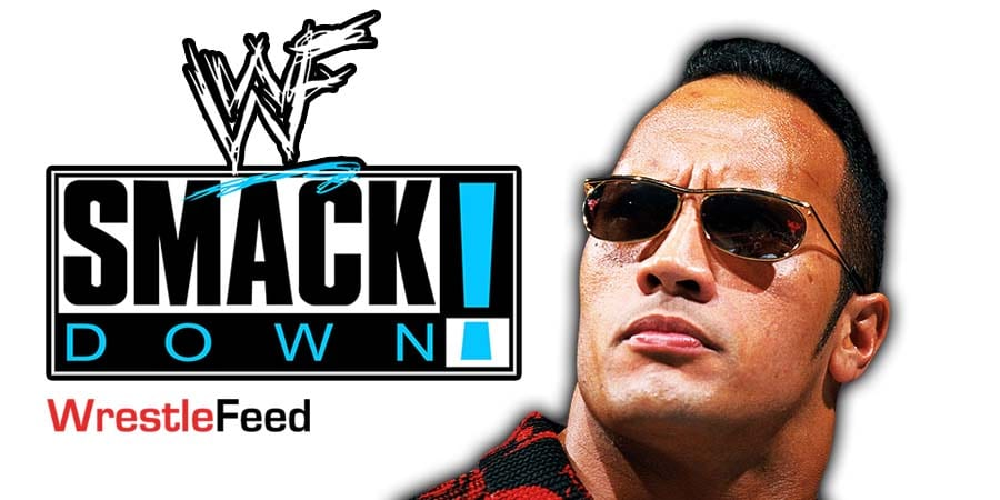 The Rock SmackDown Article Pic 6 WrestleFeed App