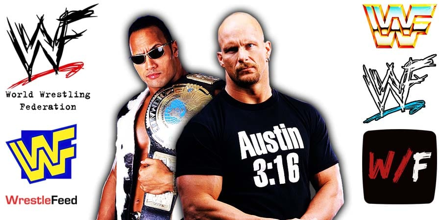 The Rock Stone Cold Steve Austin Article Pic 1 WrestleFeed App