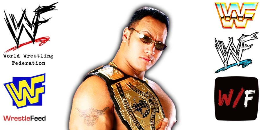 The Rock WWF Intercontinental Champion Article Pic 14 WrestleFeed App