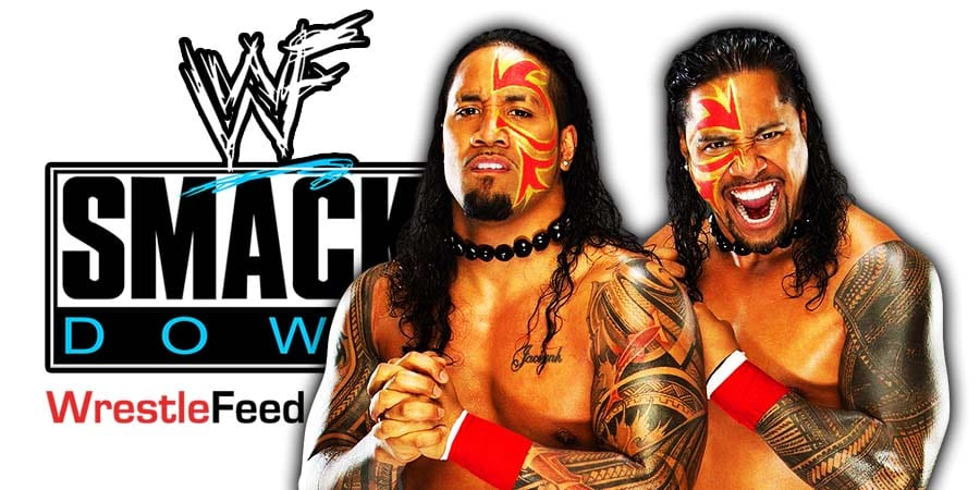 The Usos Jey Uso Jimmy Uso SmackDown Article Pic 1 WrestleFeed App