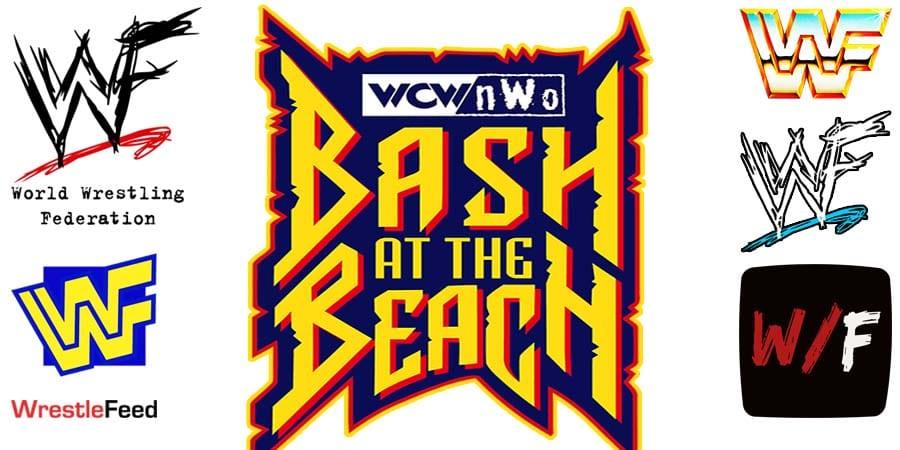 WCW nWo Bash At The Beach Logo WrestleFeed App