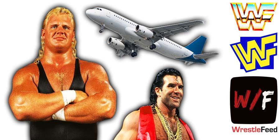 WWF WWE Plane Ride From Hell 2002 Mr Perfect Curt Hennig Razor Ramon Scott Hall WrestleFeed App