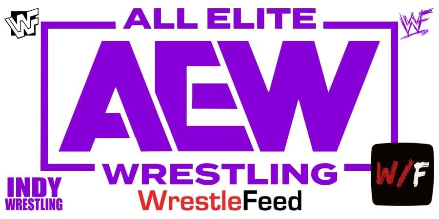 AEW Purple Logo Article Pic WrestleFeed App