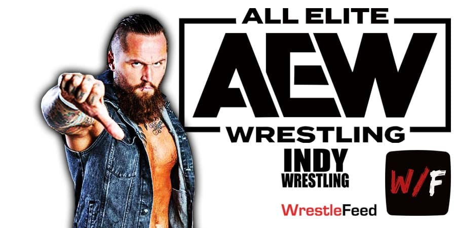 Aleister Black - Malakai Black -Tommy End AEW Article Pic 1 WrestleFeed App
