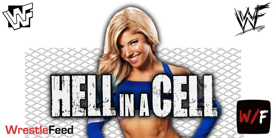 Alexa Bliss Hell In A Cell 2021 WrestleFeed App