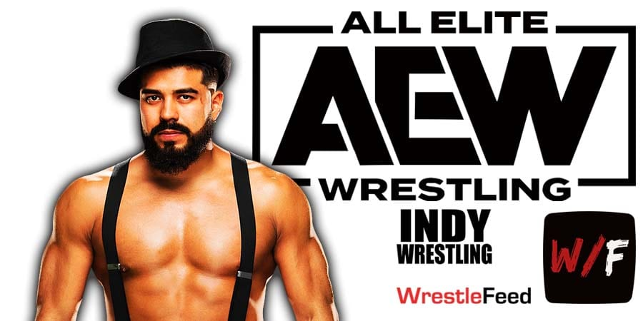 Andrade El Idolo AEW Article Pic 1 WrestleFeed App