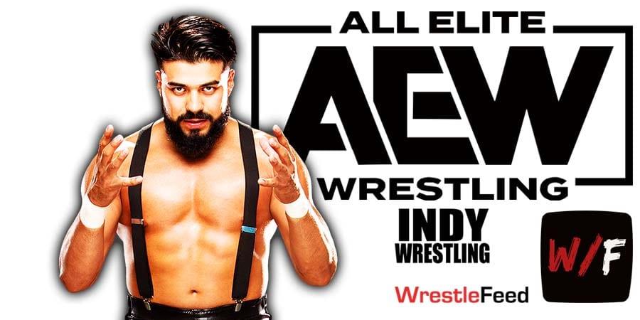 Andrade El Idolo AEW Article Pic 2 WrestleFeed App