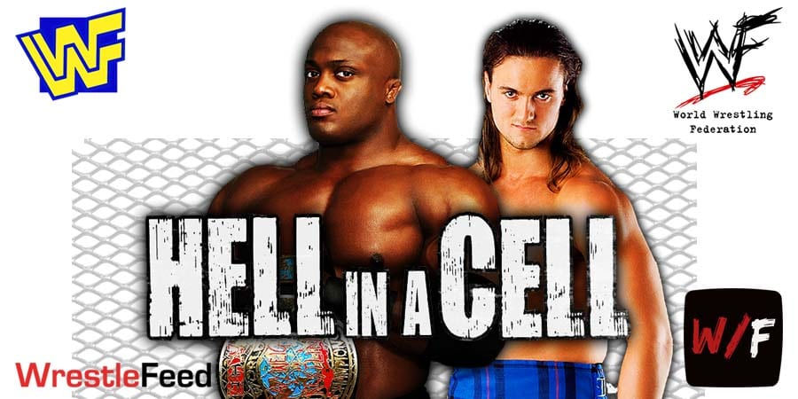Bobby Lashley defeats Drew McIntyre at Hell In A Cell 2021 WrestleFeed App