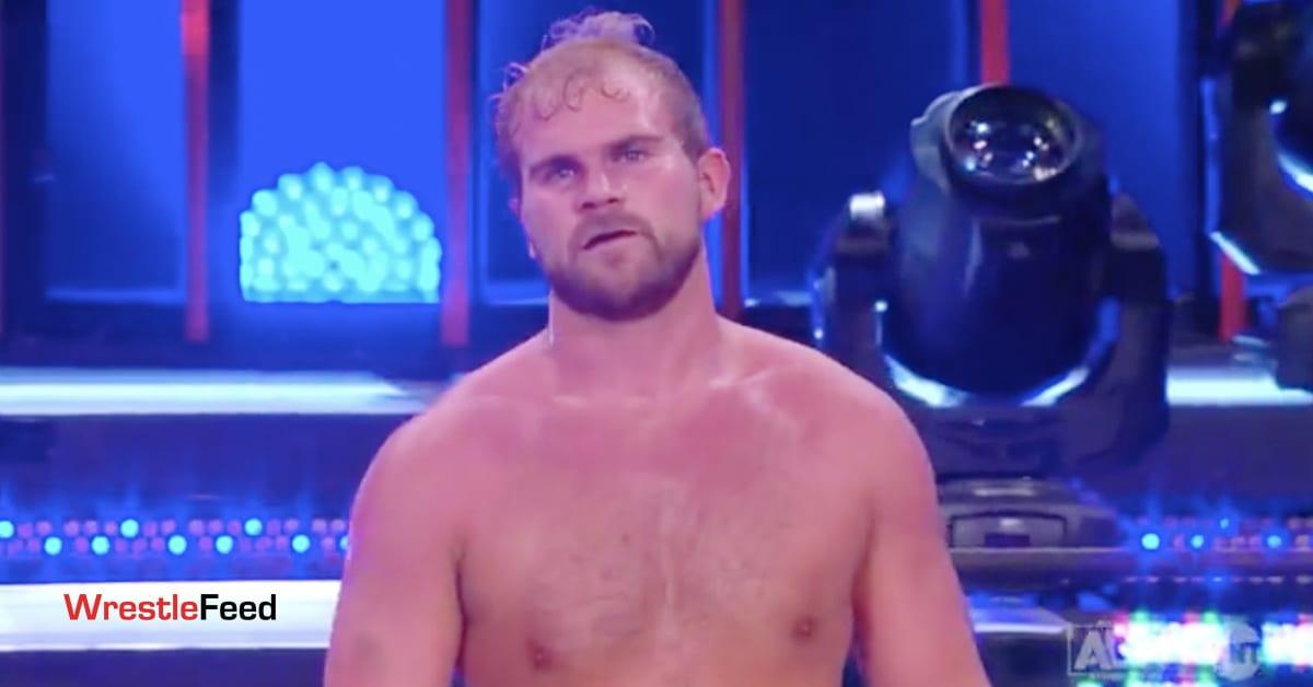 Brock Anderson Arn Anderson's Son AEW Dynamite WrestleFeed App