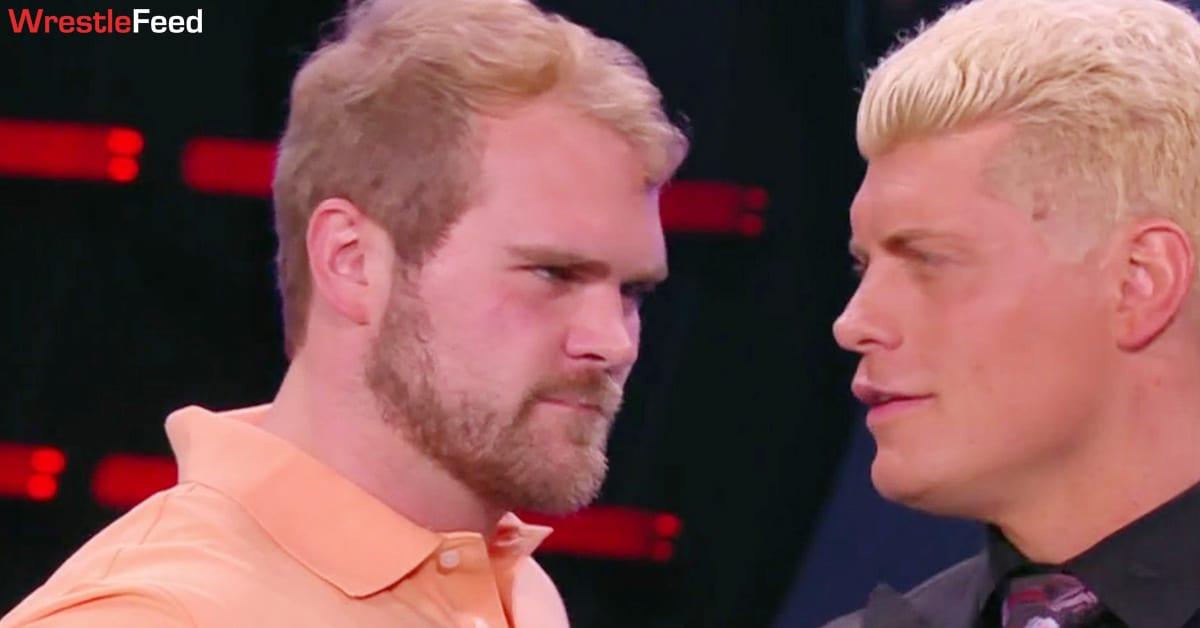 Brock Anderson Son Of Arn Anderson Cody Rhodes AEW Dynamite WrestleFeed App