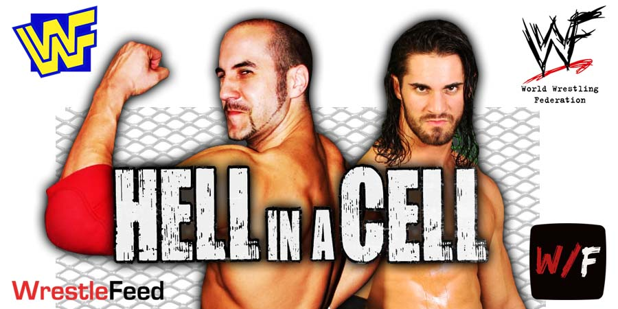 Cesaro defeated by Seth Rollins at Hell In A Cell 2021 WrestleFeed App