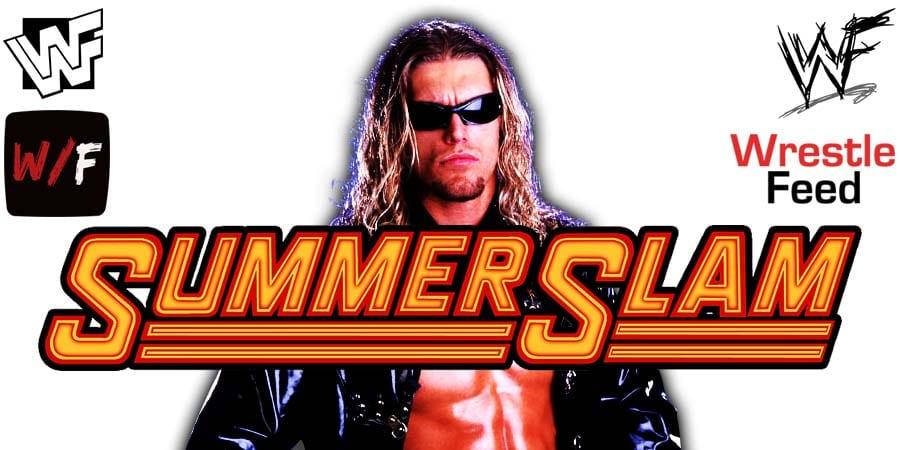 Edge SummerSlam 2021 WrestleFeed App