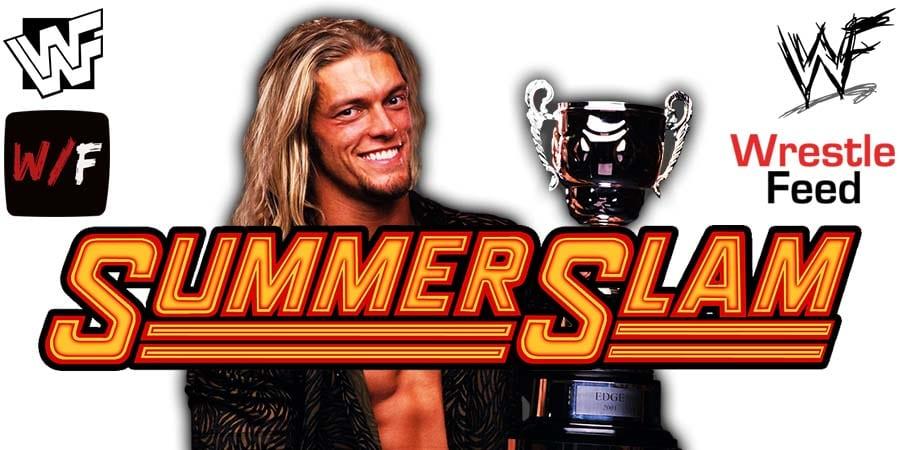 Edge WWE SummerSlam 2021 WrestleFeed App