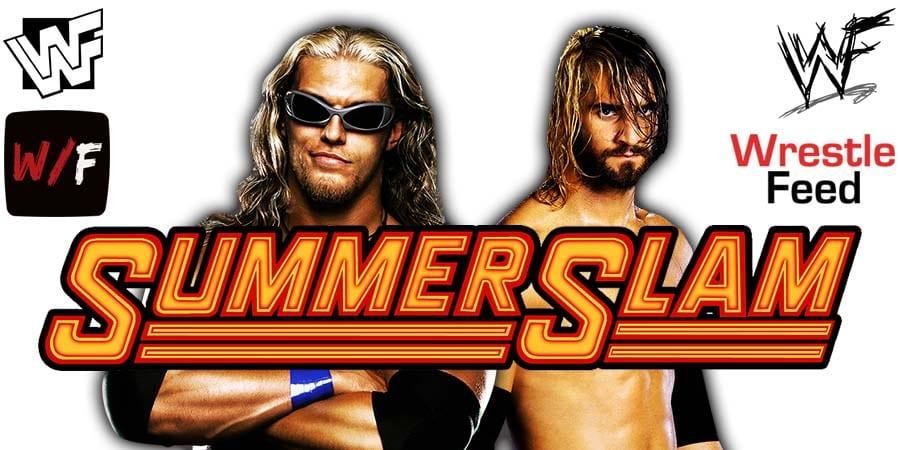 Edge vs. Seth Rollins SummerSlam 2021 WrestleFeed App