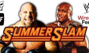 Goldberg vs Bobby Lashley SummerSlam 2021 WrestleFeed App