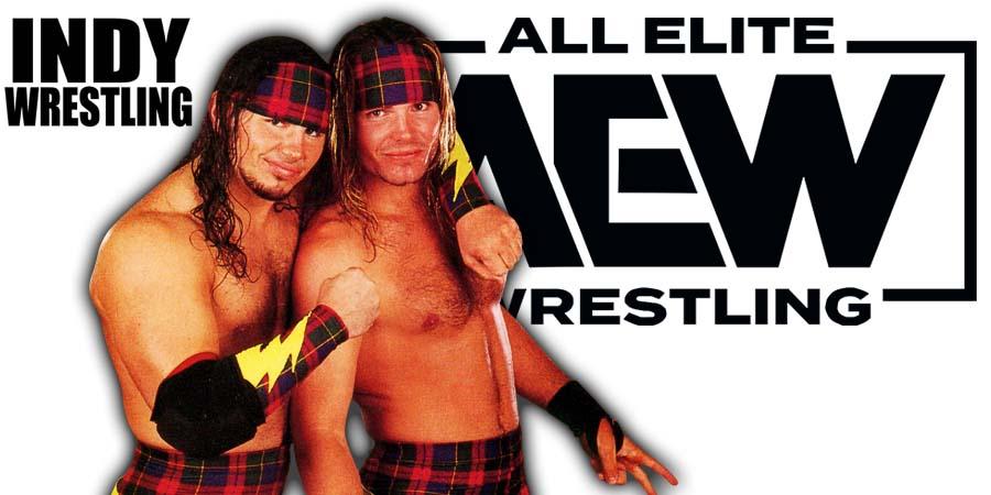 Hardy Boyz Matt Hardy Jeff Hardy AEW Article Pic 1