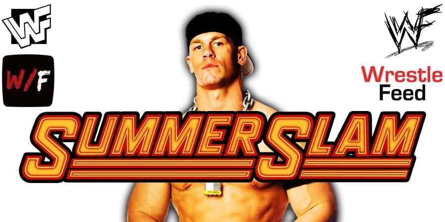 John Cena SummerSlam 2021 WrestleFeed App