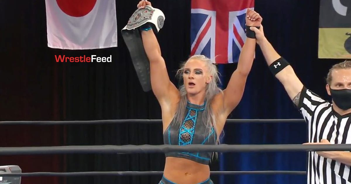 Kamille Wins NWA Women's World Championship At NWA When Our Shadows Fall 2021 PPV