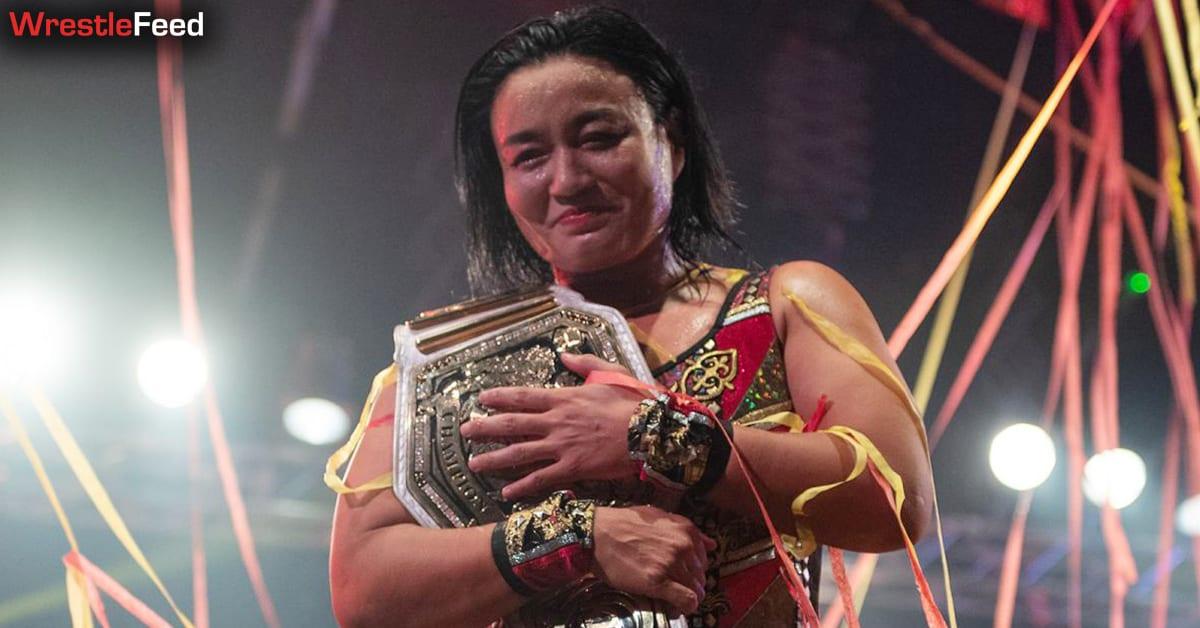 Meiko Satomura Wins The NXT UK Women's Championship WrestleFeed App