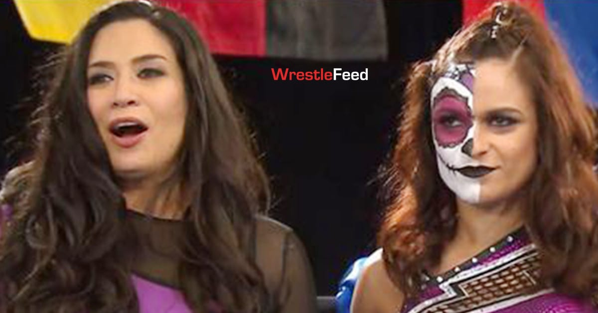 Melina Thunder Rosa NWA When Our Shadows Fall 2021 PPV WrestleFeed App