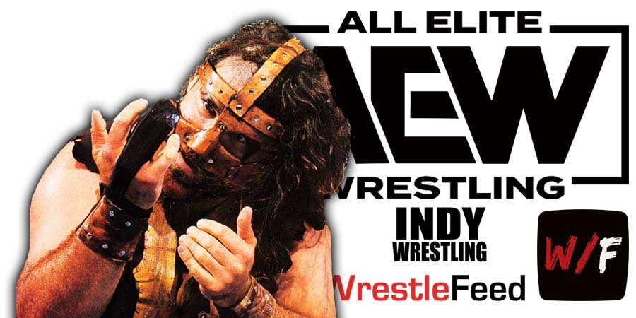 Mick Foley AEW All Elite Wrestling Article Pic 4 WrestleFeed App