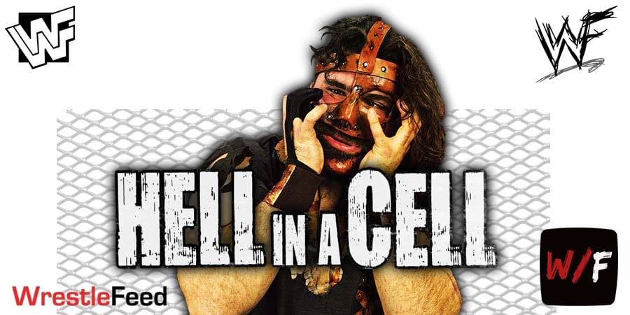 Mick Foley Mankind Cactus Jack Dude Love Hell In A Cell WrestleFeed App