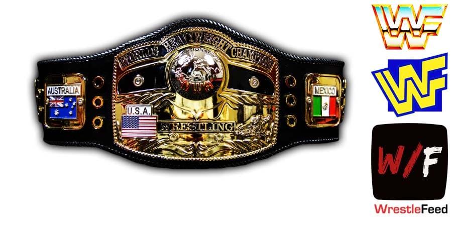 NWA World Heavyweight Championship Title Belt Article Pic 1 WrestleFeed App