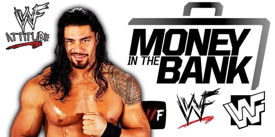 Roman Reigns Money In The Bank 2021 WrestleFeed App